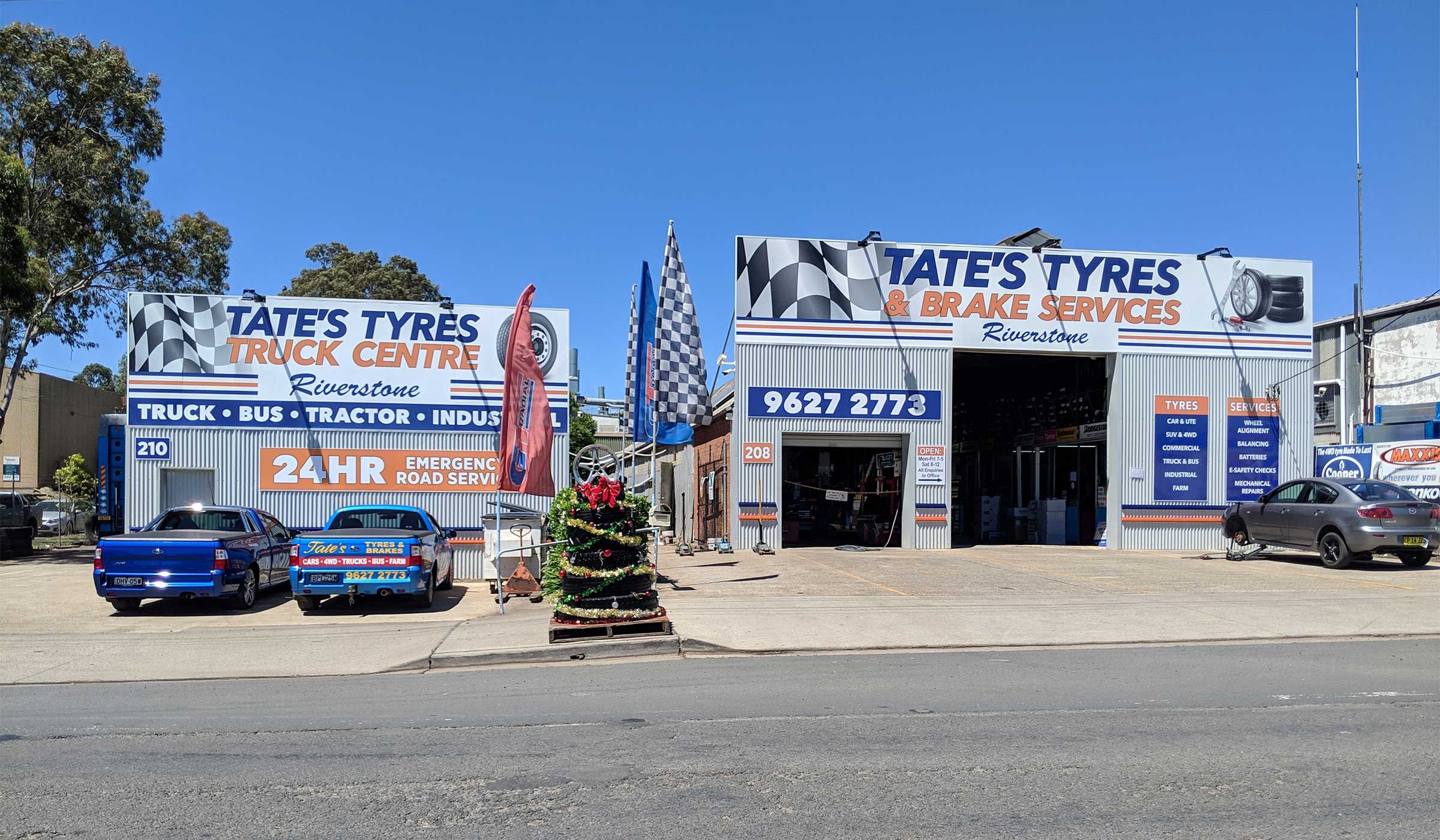Tate's Tyres Brake Services